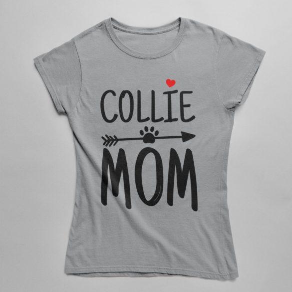 Collie mom női póló