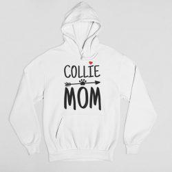 Collie mom női pulóver
