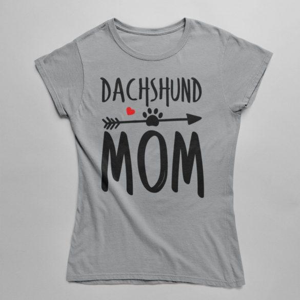Dachshund mom női póló