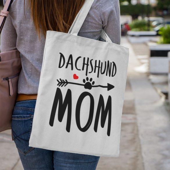 Dachshund mom vászontáska