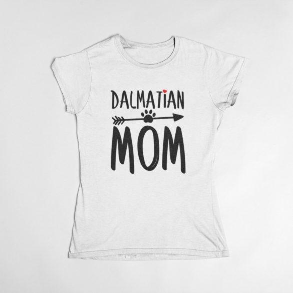 Dalmatian mom női póló