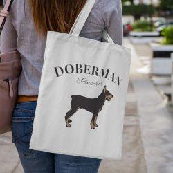 Doberman Vintage Vászontáska