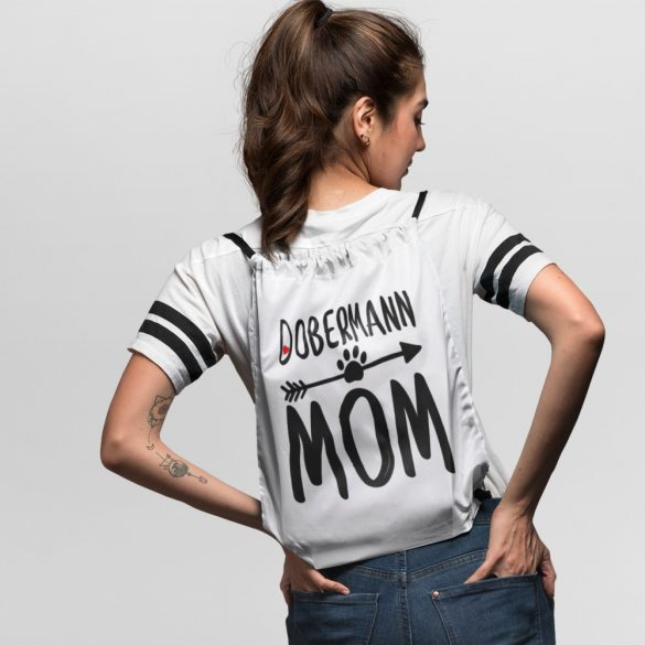 Dobermann mom tornazsák