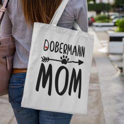 Dobermann mom vászontáska