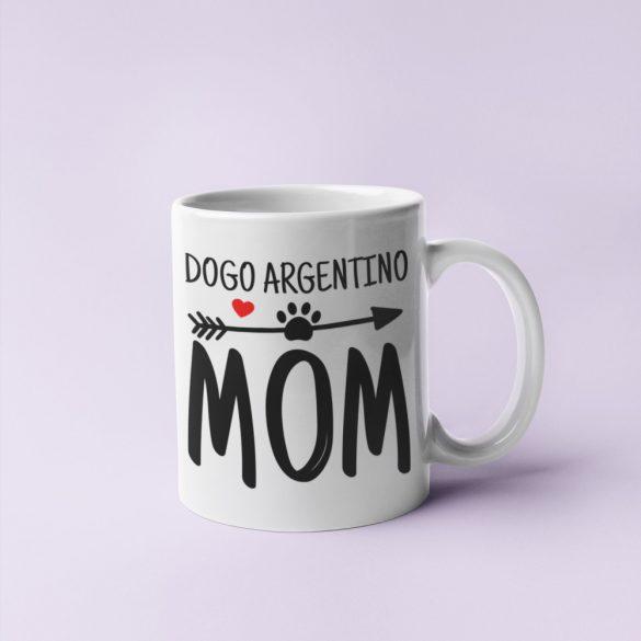 Dogo Argentino mom bögre