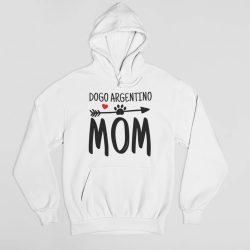 Dogo Argentino mom női pulóver