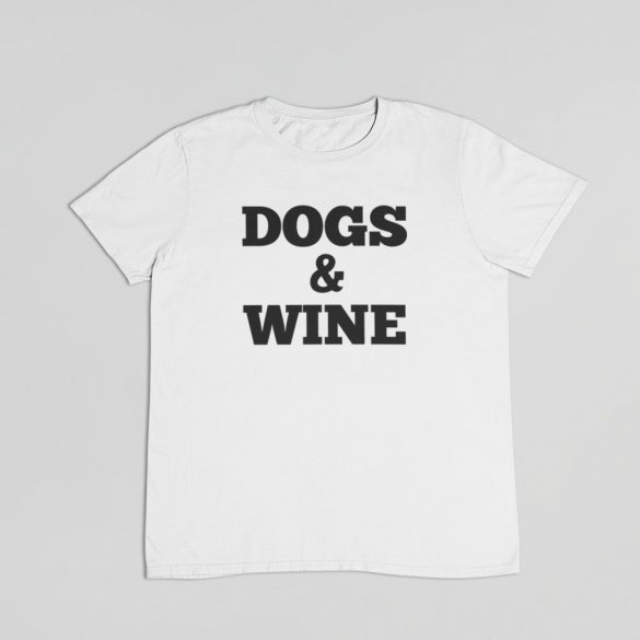 Dogs & Wine férfi póló