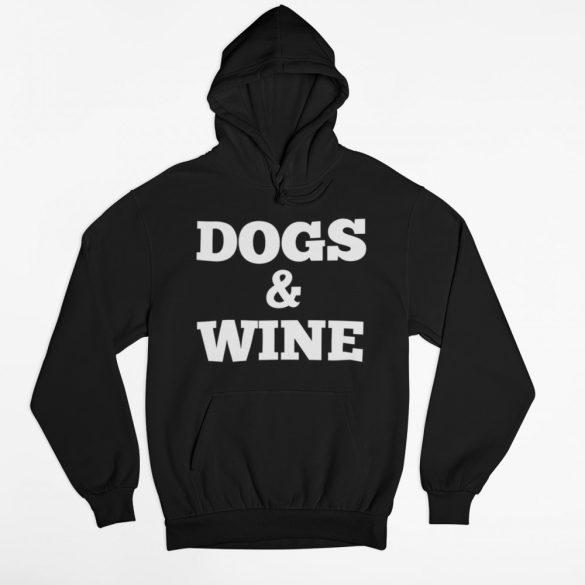 Dogs & Wine férfi pulóver