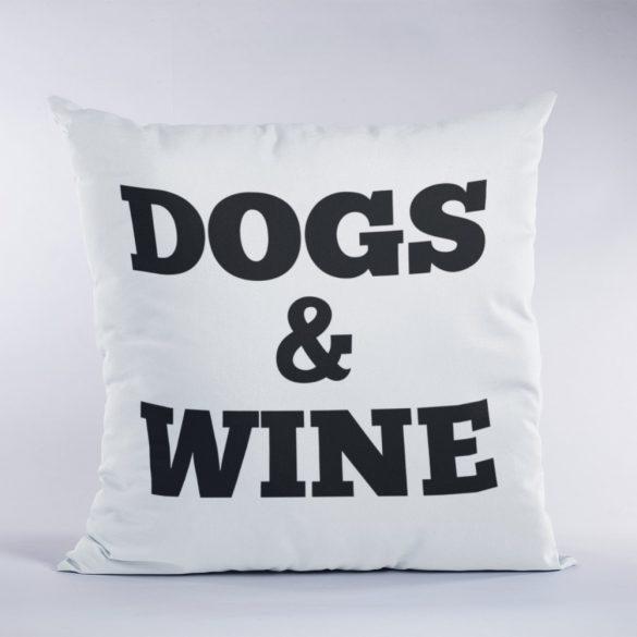 Dogs&Wine párna