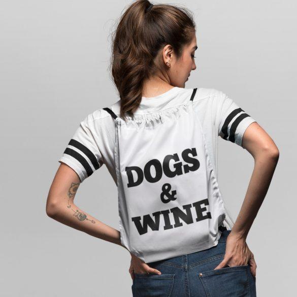 Dogs & Wine tornazsák