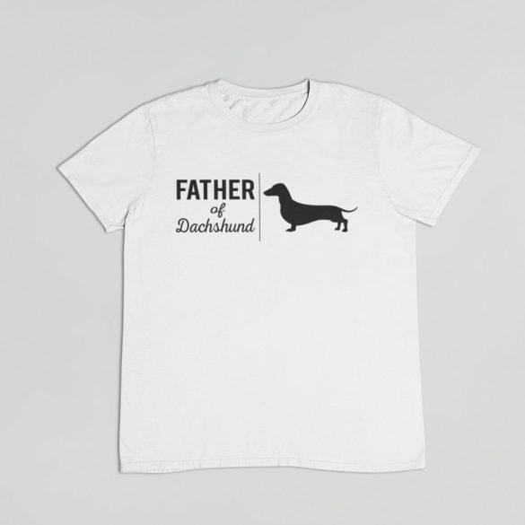Father of dachshund férfi póló