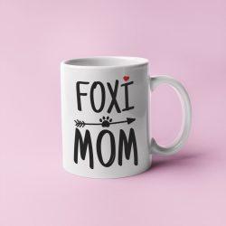 Foxi mom bögre