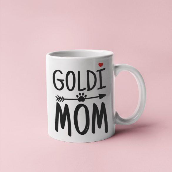Goldi mom bögre