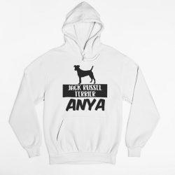 Jack russel terrier anya női pulóver