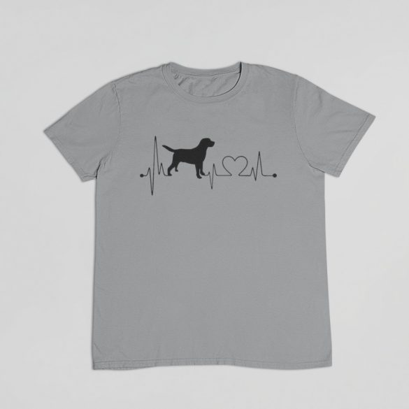 Labrador heartbeat férfi póló