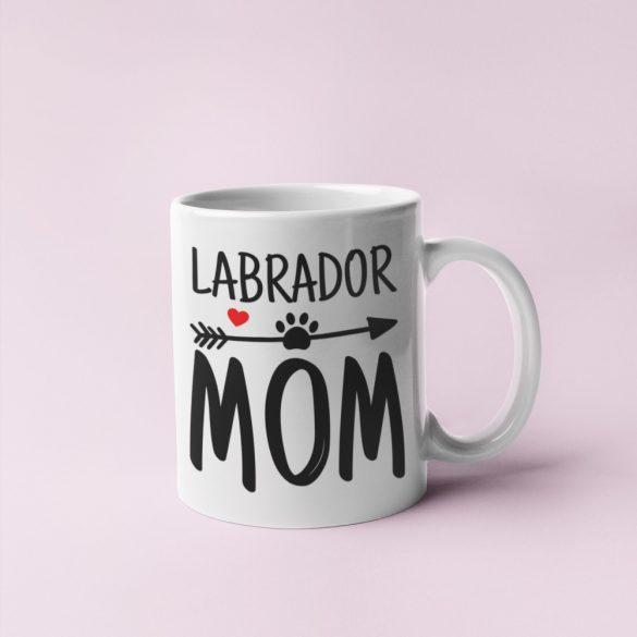 Labrador mom bögre