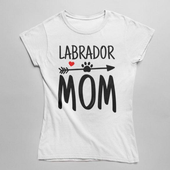 Labrador mom női póló