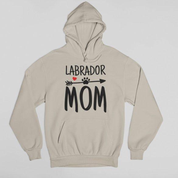 Labrador mom női pulóver