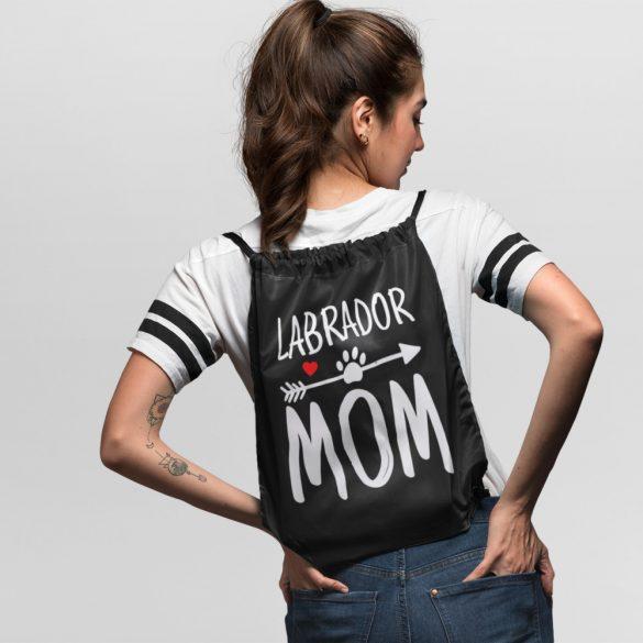 Labrador mom tornazsák