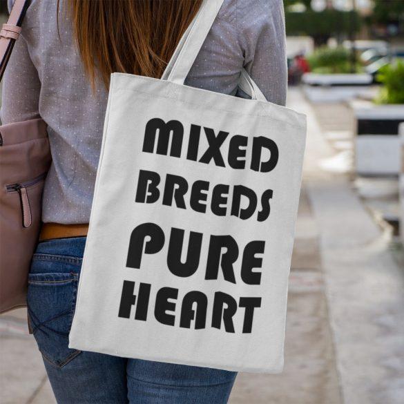 Mixed Breeds Pure Hearts Vászontáska