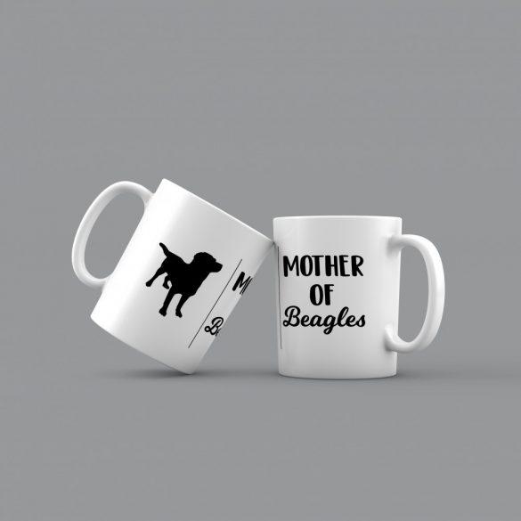 Mother of beagles bögre