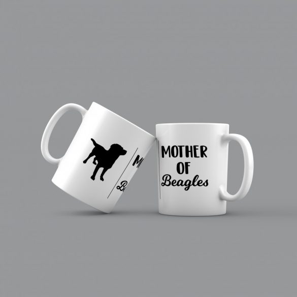 Mother of beagles bögre