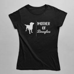 Mother of Beagles női póló