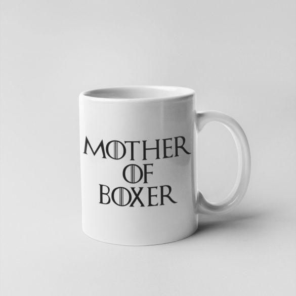 Mother of boxer (v2) bögre