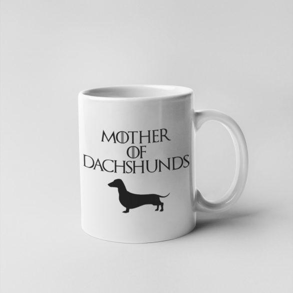 Mother of dachshunds (v2) bögre