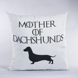 Mother of Dachshunds (v2) Párna