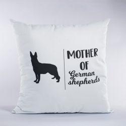 Mother of german shepherds párna