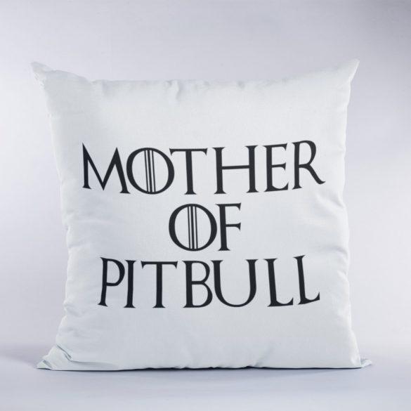 Mother of pitbull párna