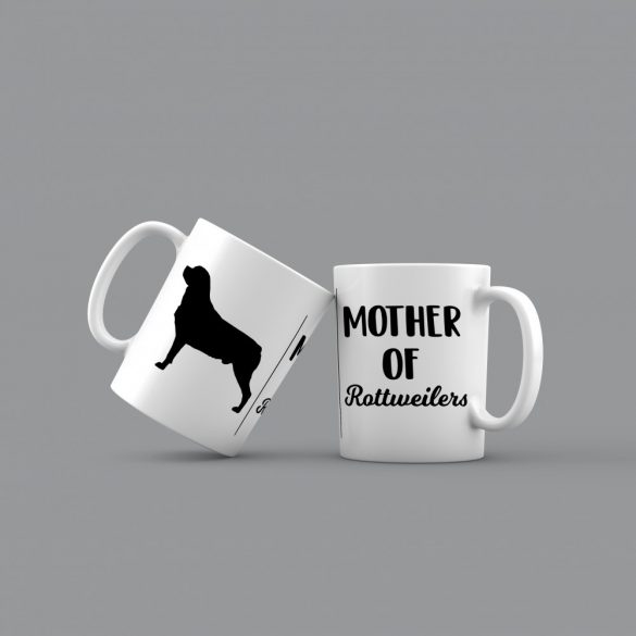 Mother of rottweilers bögre
