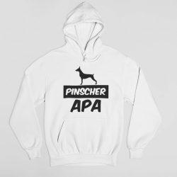 Pinscher apa férfi pulóver