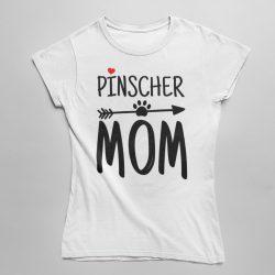 Pinscher mom női póló