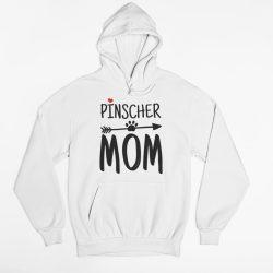 Pinscher mom női pulóver