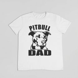 Pitbull dad (v2) férfi póló