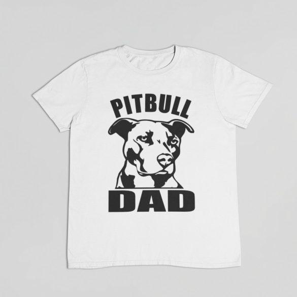 Pitbull dad férfi póló
