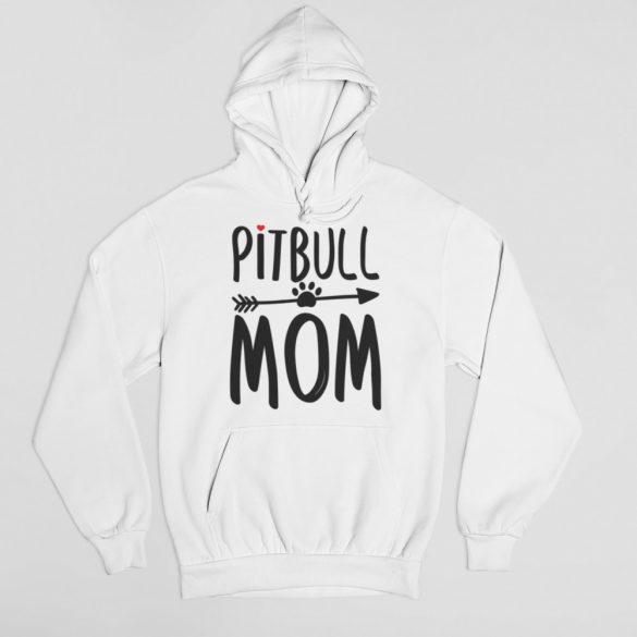 Pitbull mom női pulóver