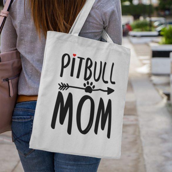 Pitbull mom vászontáska