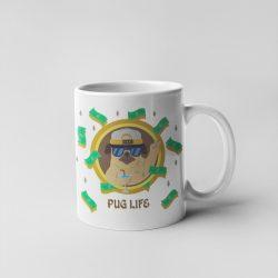 Pug Life Bögre