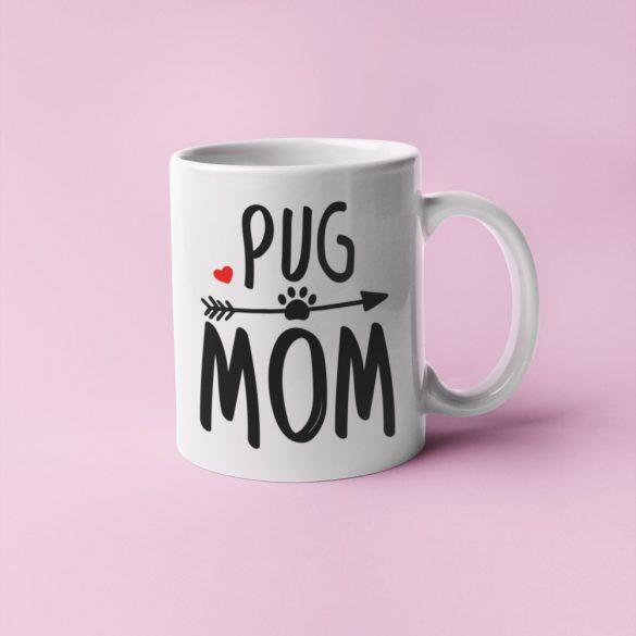 Pug mom bögre