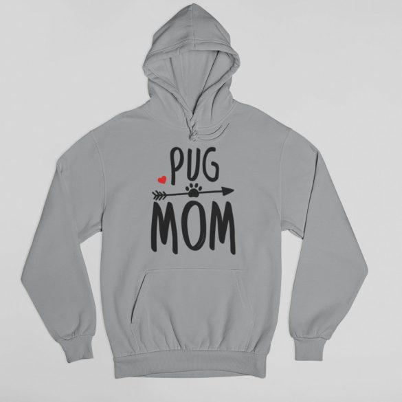 Pug mom női pulóver