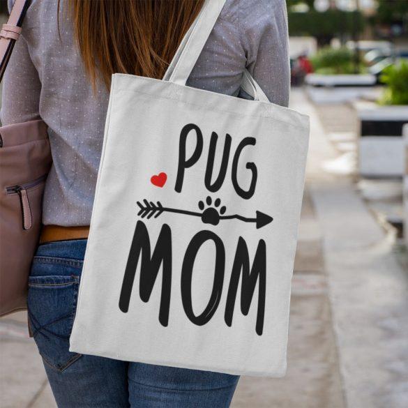 Pug mom vászontáska