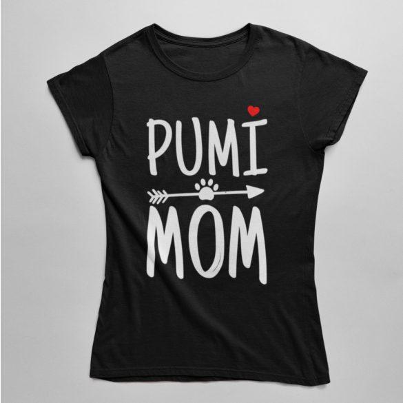 Pumi mom női póló