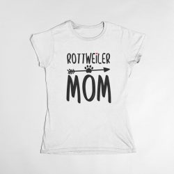 Rottweiler mom női póló