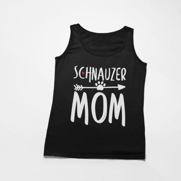 Schnauzer mom női atléta