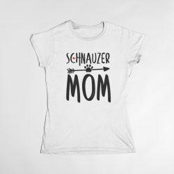 Schnauzer mom női póló