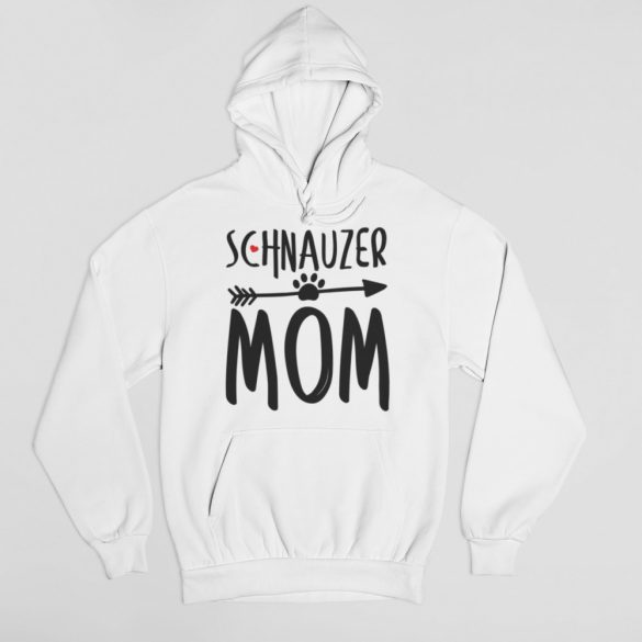 Schnauzer mom női pulóver