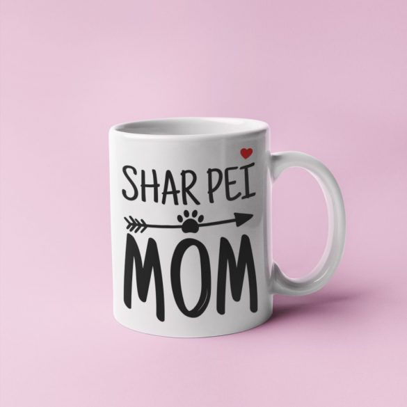Shar pei mom bögre